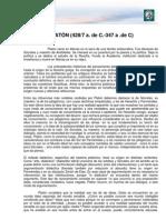 M1 Lectura 2. Platón. Ética, política y metafísica