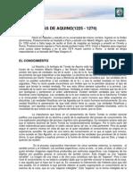 M2 Lectura 5. Santo Tomás. Guillermo de Occam