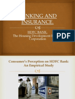 Banking Insurance Project of HDFC
