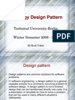 Strategy Design Pattern ( software engineering )