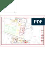 Planos Ciudadela Deportiva de Palmira. Administración Adolfo Castro.