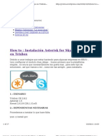 Skype 4 Asterisk
