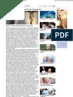 Relazione Di Padre gabriele  Amorth, 26 Maggio 2012