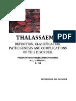 Thalassemia Microsoft Word