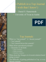 HowtoPublish in a Top Journal