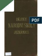 Dějiny národní školy v Jezernici část 1.