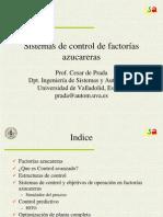 Sistemas de Control de Factorias Azucareras