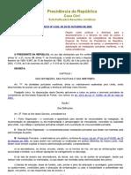Decreto nº 6620 de 2008