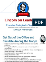 Lincoln on Leadership - Summary