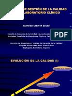 Charla 2. F.ramon. Sistemas de Gestion de La Calidad