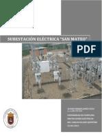 SUBESTACIÓN ELÉCTRIC SAN MATEOA