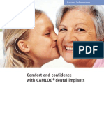 CAMLOG Implant Patient Education Brochure