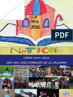 CEIP San Jose Revista 2011-2012