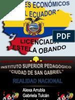 SECTORES ECONÓMICOS DEL ECUADOR