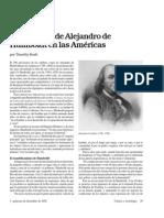 La Tradicion de Humboldt en Las Americas