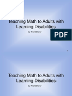Teaching Adults With MLD