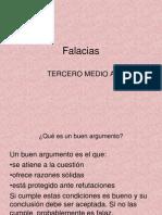Diapo+Falacias+Tercero+Medio