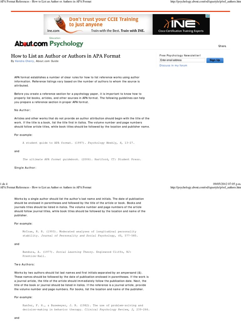 psych sad apa format In psychology, we make use of the format developed by the american psychological association (apa: 2001) therefore, the purpose of this paper is to discuss the various aspects of apa format for psychology students.