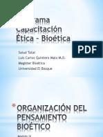 Modulo Ix Organizacion Del Pensamiento Bioetico