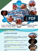 World Hunger (Tahiyem Fardales and Anahi Lopez