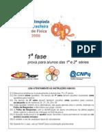 OBF2006 1Fase 1&2serie Prova