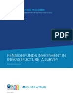 Pension Fund Investment in Infrastructure - OECD-OW