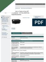 HP Photosmart D110a(CN731A) Spec