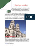 Municipios en Jalisco