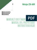 Manual Del Propietario ZX6R 07-08