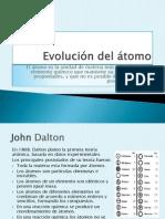 Evolución del átomo