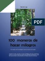 100 Maneras de Hacer Milagros