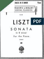 IMSLP71074-PMLP14018-Liszt - S178 Sonata in B Minor Schirmer