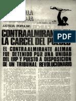 Revista Estrella Roja. Buenos Aires, Nº 19, 3 de abril, 1973