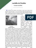 El Cuchillo de Pachita, Lorenzo Leon Diez