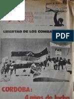 Revista Estrella Roja. Buenos Aires, Nº 21, 21 de junio, 1973