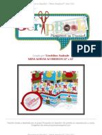 GeraldineAndrade MiniAlbumAcordeon Scrapbook ProyectosenEspanol
