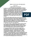 Behaviorism, Language and Meaning - Sellars