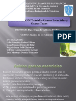 Seminario 3 Acidos Grasos Omega y Grasas Trans