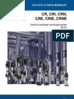 Catalogo técnico bomba multiestagio CR