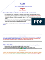 Term 2, 2012 Assessment Task Guide - Macbeth