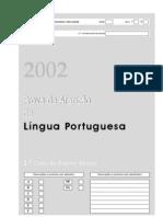 Prova de Afericao LP 1 Ciclo 2002