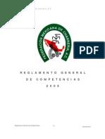 Reglamento General Competencia - FMCH