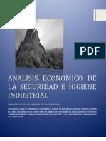 Analisis Economico de La Seguridad e Higiene Industrial Unidad Vii