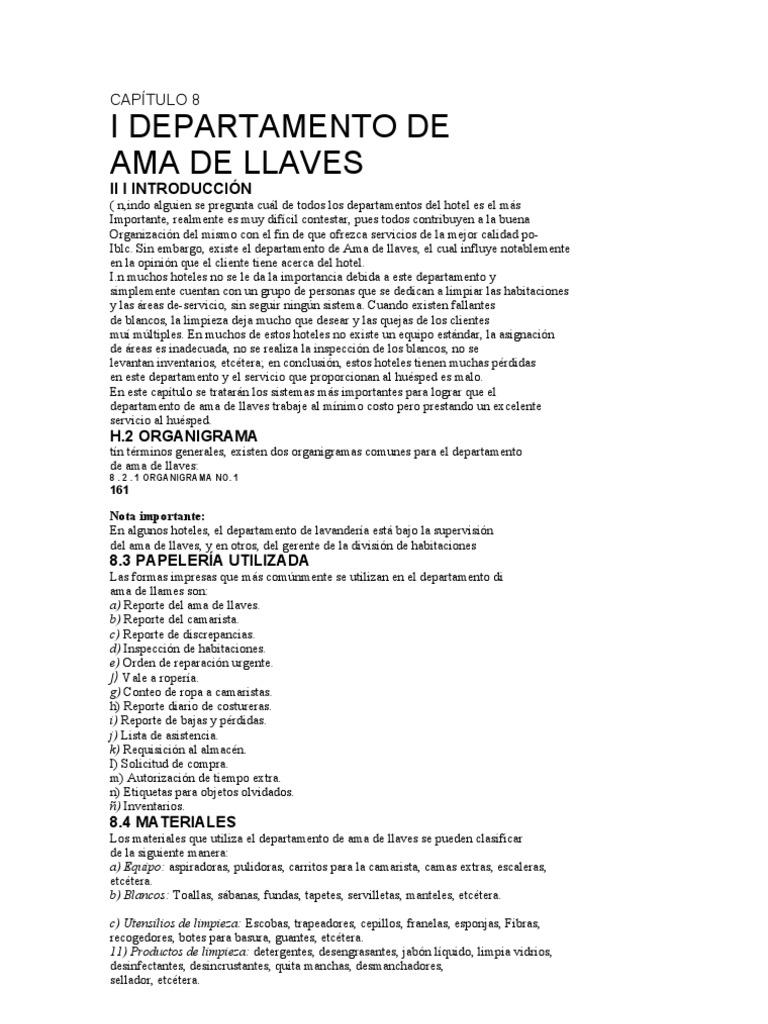 Moderno Reanudar Ejecutivo Ama De Llaves Foto - Colección De ...