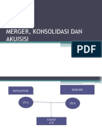 Merger, Konsolidasi Dan Akuisisi (Juni 2012)