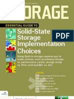 Solid State Storage Essential Guide