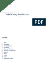 Siebel Coding Best Practice