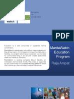 MantaWatch Education Program 2012 - Raja Ampat