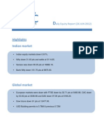 DAILY EQUTY REPORT BY EPIC RESEARCH - 26 JUNE  2012
