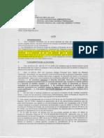Cautelar Fuera de Proceso Solicitada Por El Sintragobreg